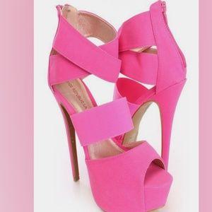 Shoe Republic LA - Edna Platform Heel